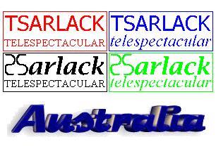 Pan-Australian Tsarlack Television