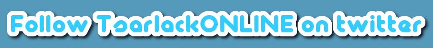 Follow TsarlackONLINE on twitter