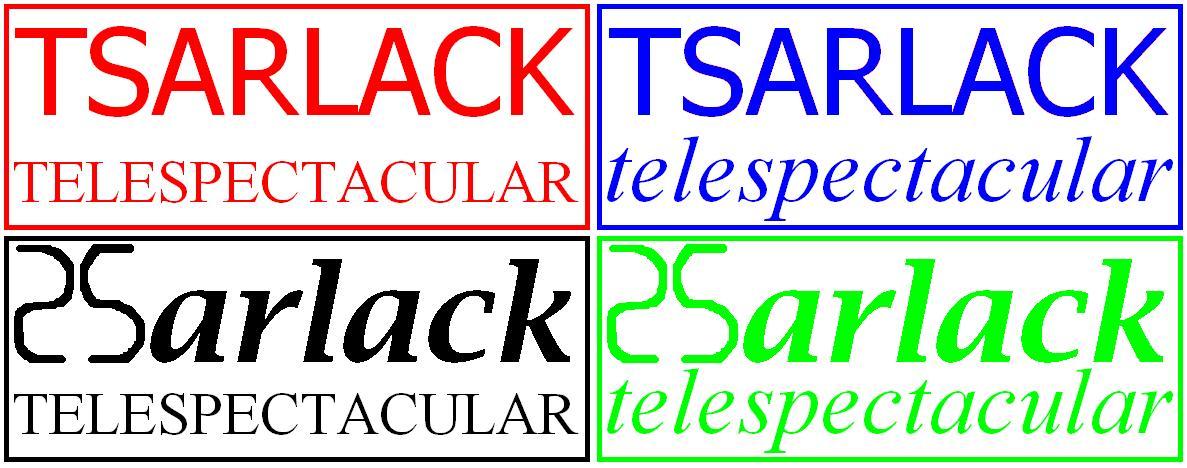 Tsarlack TeleSpectacular