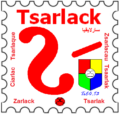 State of Tsarlack Life Series:  Ts€ 0.53 Stamp